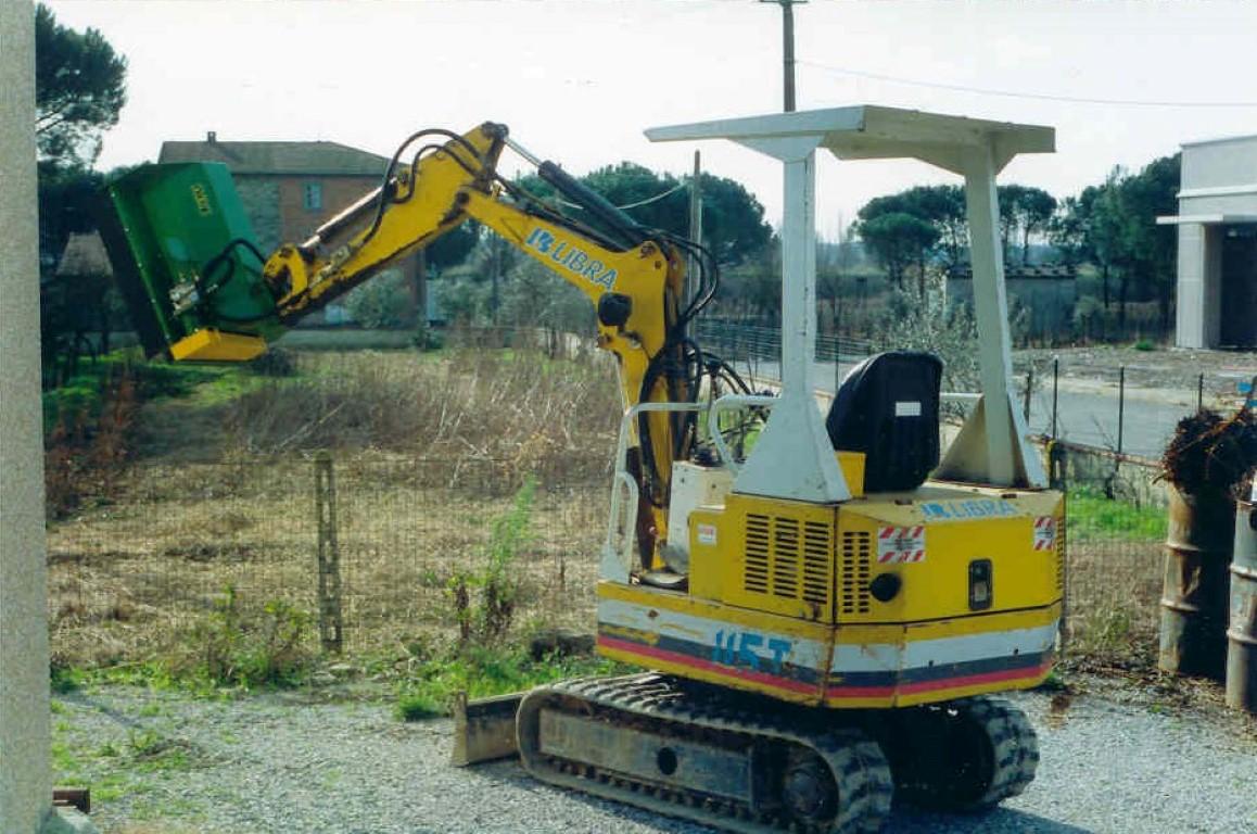 Flail Mower with hydraulic motor 118/E | Carli